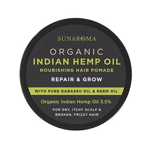 Sun. Organic Indian Hemp Oil Hair Pomade