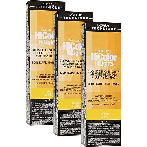 HiColor Blonde HiLights Permanent Creme Hair Color 1.2 OZ