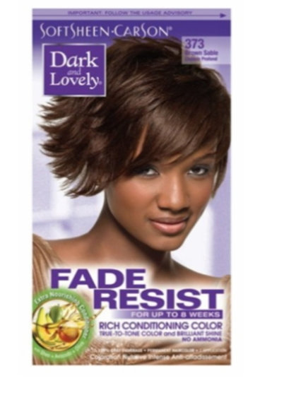Dark &' Lovely Fade Resist 373 Brown Sable