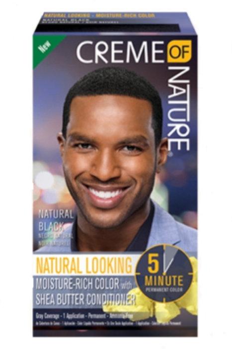 Creme of Nature Natural Black for Men