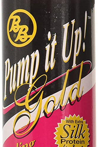 Bronner Brothers Pump It Up Spritz Gold, 8 Ounce