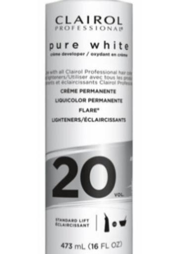 Clairol Professional Pure White Creme developer 20 VOL.