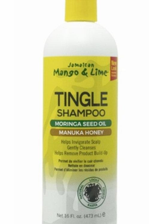 Jamaican  Mango & Lime Tingle Shampoo moringa