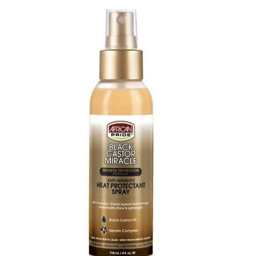 Black Castor Miracle Heat Protectant Spray