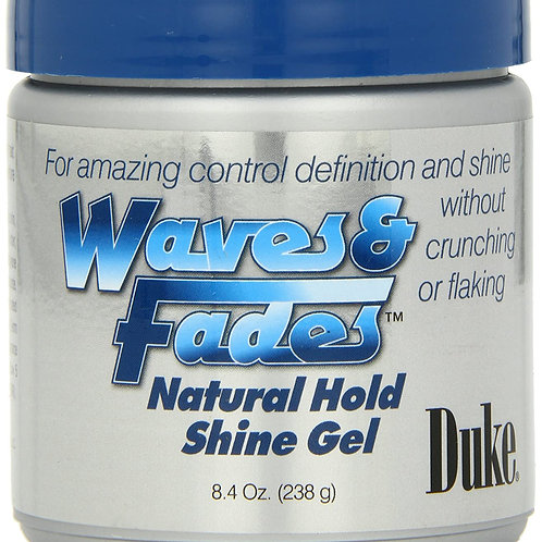 Duke Waves & Fades Natural Hold Shine Gel 8.4oz