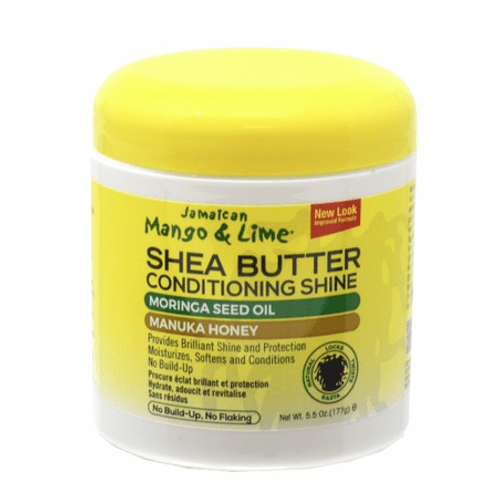 Jamaican Mango & Lime Shea Butter Conditioning Shine Moringa Seed Oil Manuka Hon