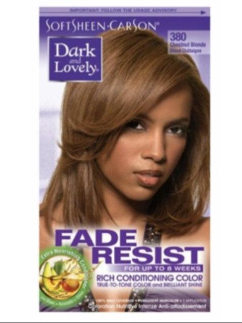 Dark &' Lovely Fade resist 380 Chestnut Blonde
