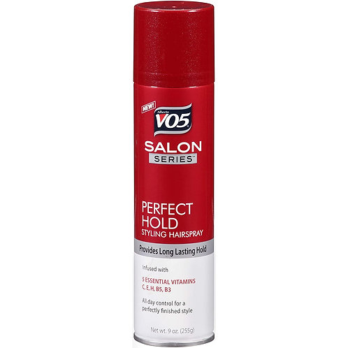 VO5 SALON SERIES PERFECT HOLD HAIRSPRAY AEROSOL 9oz