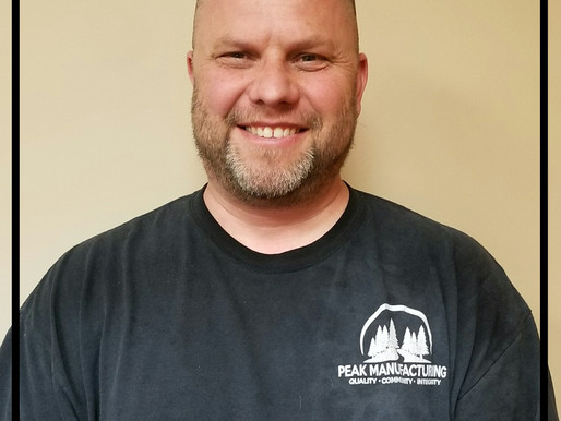 Employee of the Month - Brad Macomber!