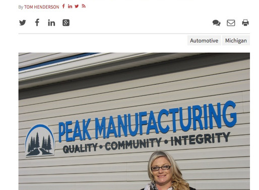 President Featured in Crains Business Detroit
