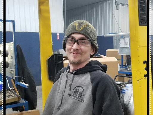 February  Employee of the Month - Brandon Kurts!