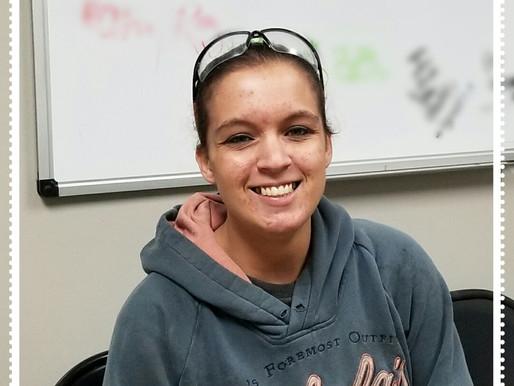 April Employee of the Month - Sabrina Kurts