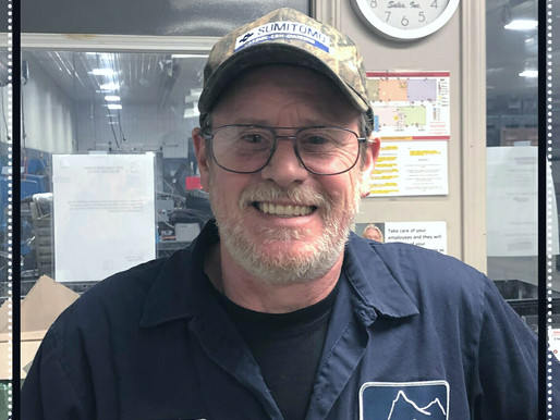 January Employee of the Month - Chris Bremiller!