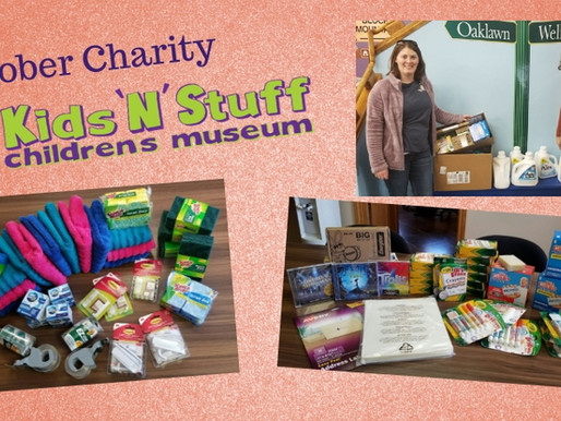 October Charity of the Month - Kids 'N' Stuff Children's Museum!