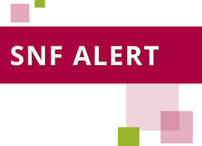 SNF Alert: COVID-19 Waivers