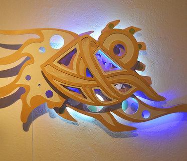 Morph- LED Sculpture