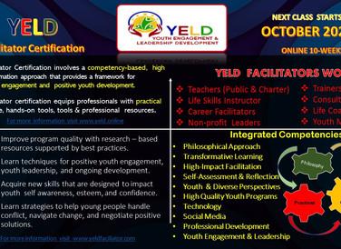 Y.E.L.D. Facilitators -Students Need Us Now!