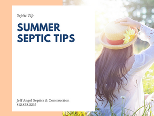 Summer Septic Tips