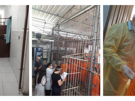 Presídio de Biguaçu adapta rotina para evitar propagação da tuberculose durante pandemia