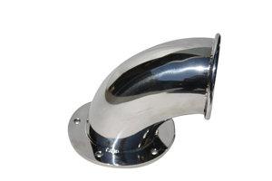 SMALL  CAST S/S HAWSE PIPE