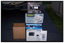 Installation wiring, repairs Lowrance fish finder,GPS, marine radio,AM/FM/MP3 radio,Navionics Map