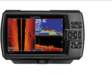 Fish finder/Gps combo