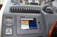 Boat electrical repairs and fit ups of Raymarine fish/GPS/Radar combo unit,Marine electrician Patterson lakes,Frankston,St Kilda, Mordialloc, Sandringham,