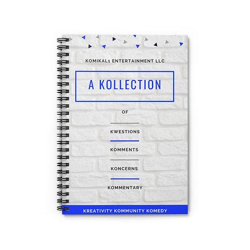 K1E Spiral Notebook - Ruled Line