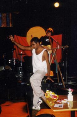 Johnnie Mac with Indig Dancer