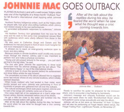 Johnnie Mac Goes Outback