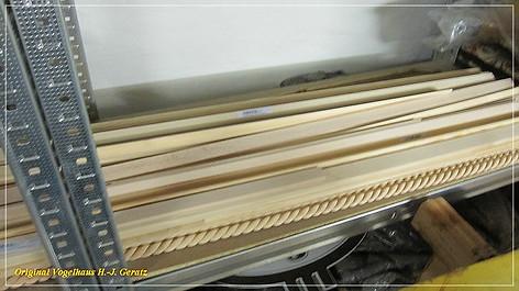 Verschiedene Holzleisten