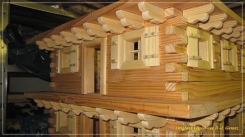 Balkon-Träger handgefertigt...