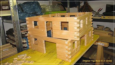 Häuser mit 2 Etagen werden auf Wunsch auch gebaut.