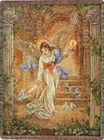 Manual Weavers Angel Of Light Cotton Tapestry Throw