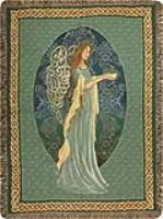 Manual Weavers Irish Angel Cotton Tapestry Throw
