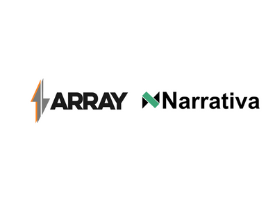 Array and Narrativa Launch Major Advancements in Artificial Intelligence Natural Language Generation