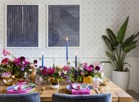 Bold and Dramatic Easter Table