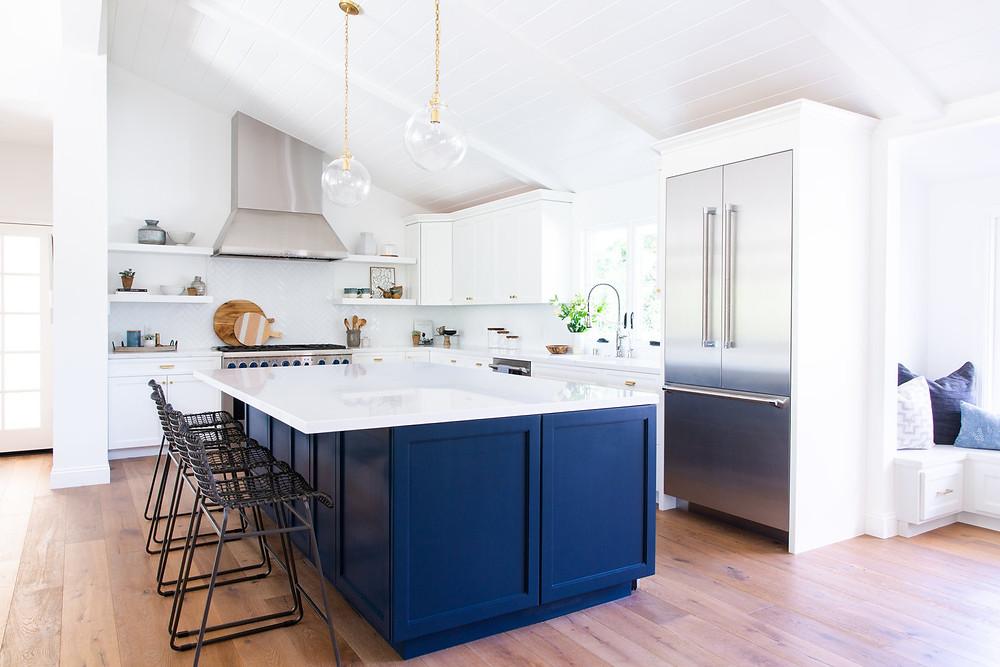 kitchen by Lindsey Brooke Design