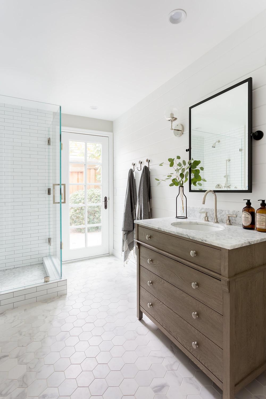 bathroom by Lindsey Brooke Design