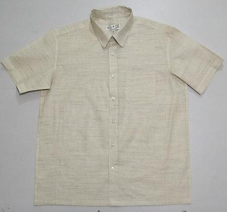 Birchbark Khadi Short Sleeve Button-Up