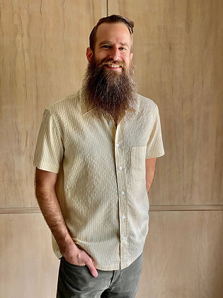 Reed Khadi Short Sleeve Button-Up
