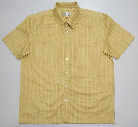 Maize Khadi Short Sleeve Button-Up