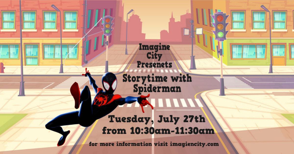 Spiderman Storytime!