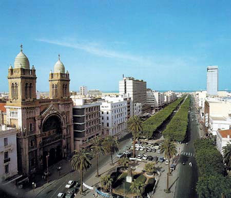 das Herz von Tunis