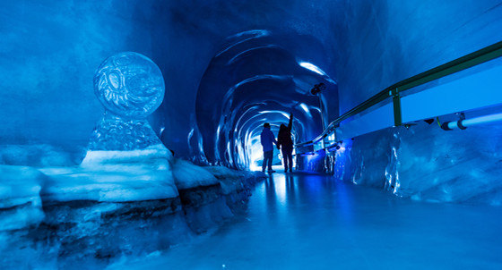 Gletschergrotte auf dem Titlis