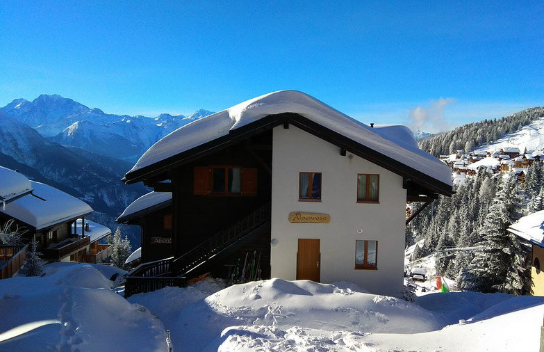 Winter Chalet Alpenrose