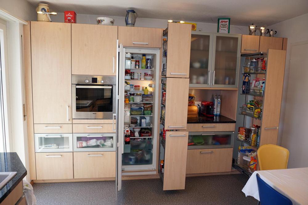 Küchenkombination mit viel Platz