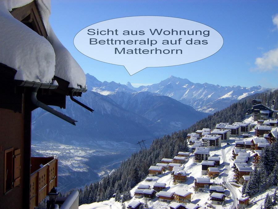 Sicht auf Matterhorn