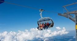Moderne Skiliftanlagen