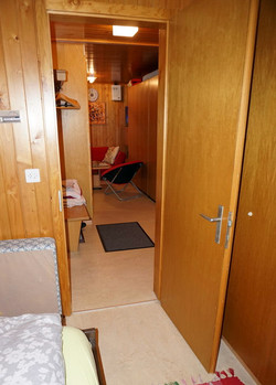 Schlafzimmer, Korridor, Stube